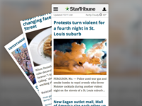 m.startribune.com redesign