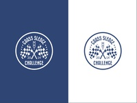 Grass Sledge Challenge Badge