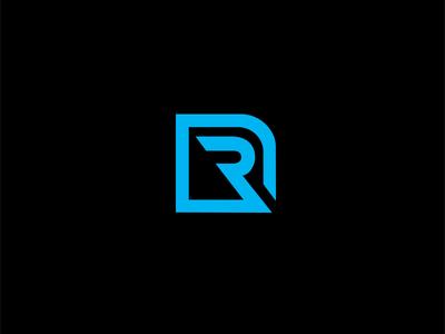 r logo by deb panckhurst   dribbble