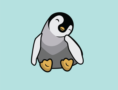 penguin animal illustrator