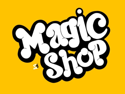 Magic Shop Hand Lettering music art song song poster music bts typeface hand lettering type typography