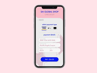 DAILYUI #2 - Check out ux app design ui