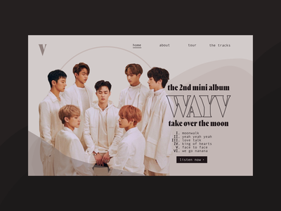 DAILYUI #3 - Landing Page website minimal flat web ux ui design