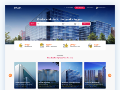 Real Estate Listing - Landing Page