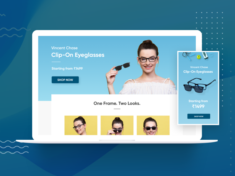 Landing Page - ClipOns | Eyeglasses | Sunglasses