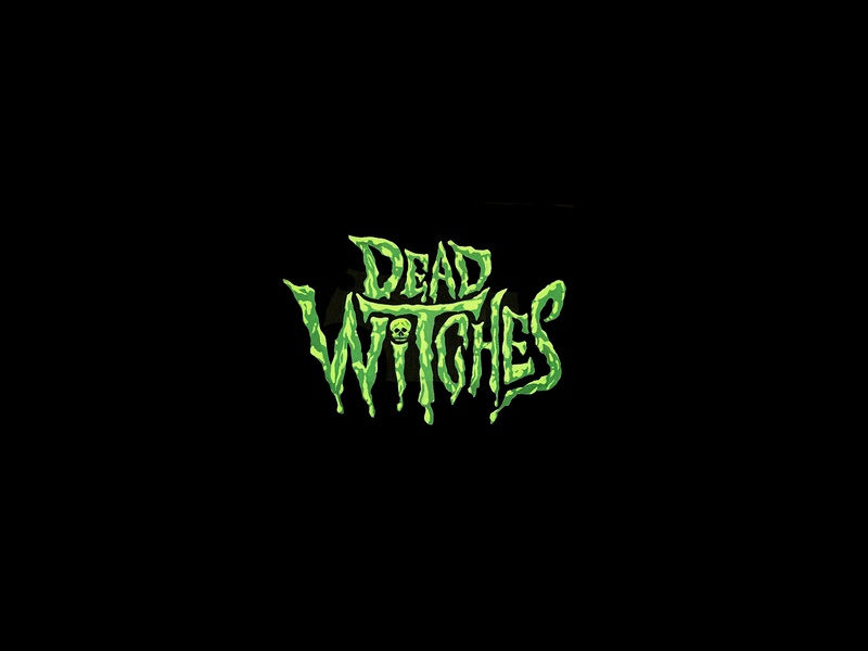 Dead Witches (UK) Logo logo typography branding illustration