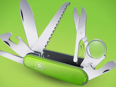 Pocketknife illustration