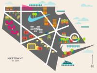 Niketown map