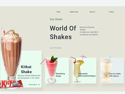 World of Shakes branding uiux design uidesign app design