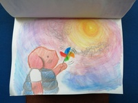 The Dam Keeper watercolor illustration