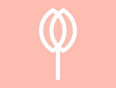 Minimal Flower Logo Mark