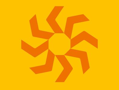 Around the circle sun design minimal vector logodesign logo illustrator illustration icon graphicdesign flat design artist