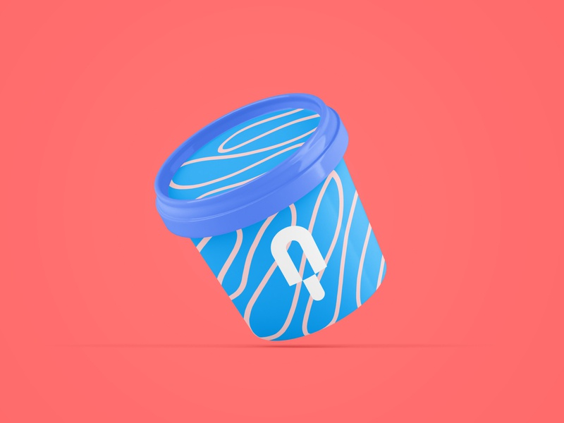 Minimal Popsicle Logo design vector logodesign logo illustrator illustration icon graphicdesign flat design artist