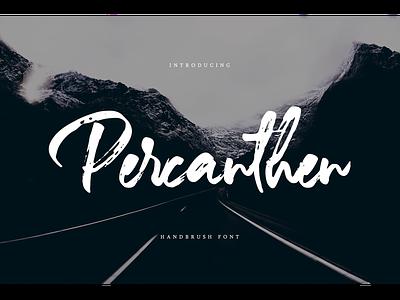 Percanthen Font percanthen typeface handdrawn webfont logotype branding script brush
