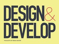 Blog Book - Design & Develop