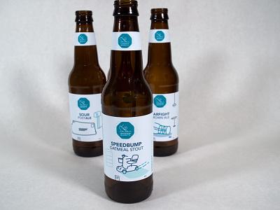 Township Product Shot beer brewing label product shot mockup