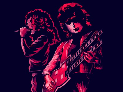 Rock Duo - Led Zeppelin
