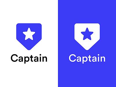Captain Logo logo designs logodesign branding concept branding and identity logotype logos logo branding design logo design branding