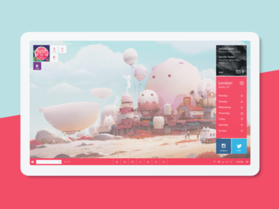 Windows Desktop 🖥️ design ui microsoft desktop app desktop design windows 10 windows