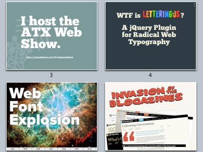 Lettering.js Keynote