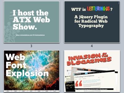 Lettering.js Keynote keynote blogazine