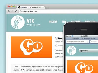 Responsive ATX Web Show