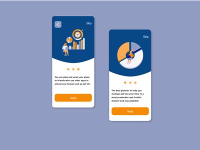 Planner planning ux app ui design
