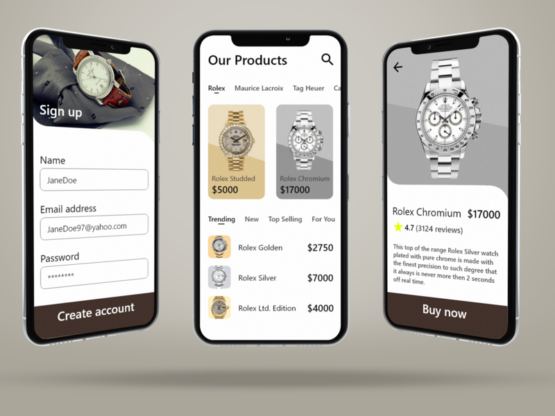 Ecommerce  ui ecommerce ux app ui design