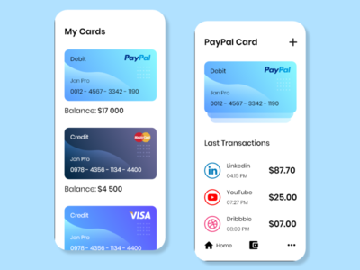 Mobile UI 2 ewallet ux app ui design