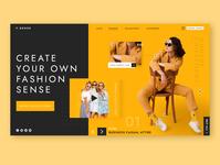 F.SENSE dailyfashion fashion fashionwebsite dailydesign landingpage ecommerce business webapp userinterface designinpiration websitedesigner uxdesigner uidesigner uiuxdesign uxdesign uidesing uiux ux ui