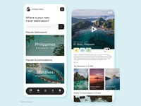 Travel App branding typography travelphilippines travelapp travel design webdesign web web app uxdesigner uidesigner uiuxdesign uxdesign ui design uiux ux ui