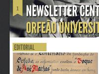 Newsletter Centenary