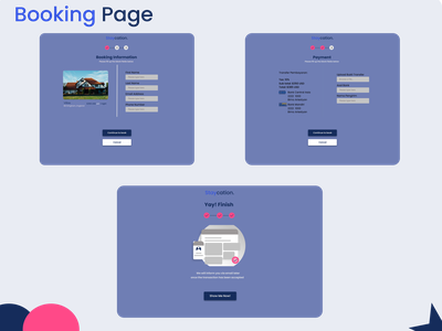Booking Page payment form payment app payment booking page booking house hotel holiday branding web ux ui design art app