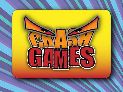 crash games tease A art illustrator icon typography vector design logo illustration