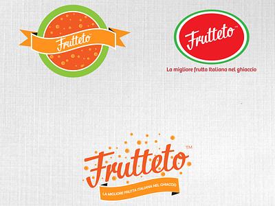 Frutteto logo redesign concepts type branding icon vector typography logo illustrator illustration design art