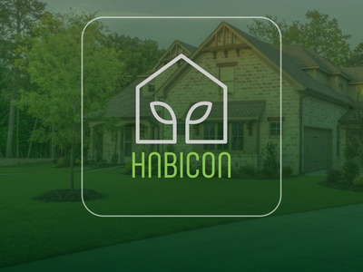 Habicon - EcoHomes branding inspiration icon logo vector typography illustrator illustration design art