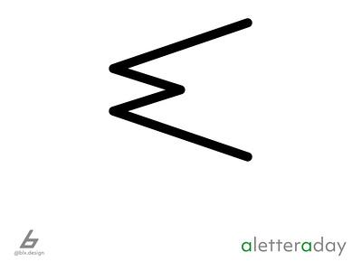 A.L.A.D - Letter E illustrator graphic design fun inspiration icon logo typography illustration design
