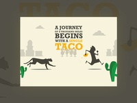 A journey of a thousand miles begins with a single taco
