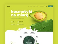 Cosmetics manufacture website