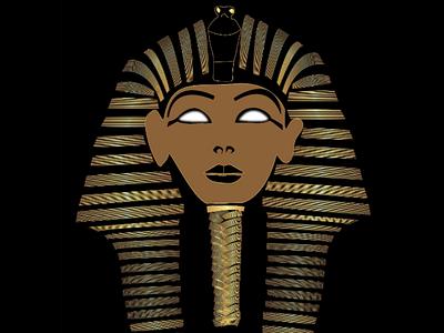 People of kemet egyptians golden era flat illustrations