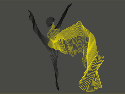 Balley flow blend illustration
