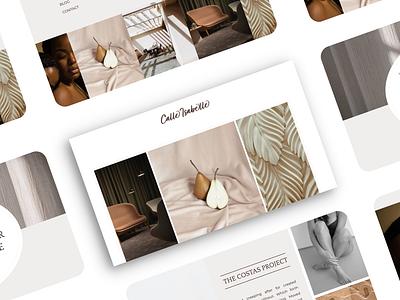 Luxury Interior Decor Showit Website web design interior design logo luxury branding logo design high-end branding editorial branding design brand identity