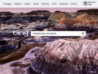 Bing Homepage Concept