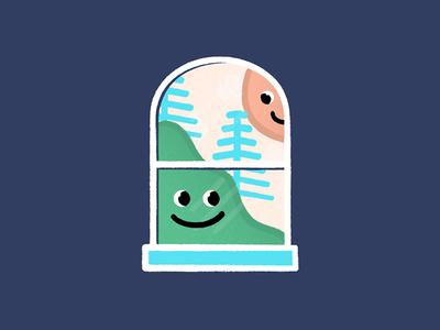Happy Window #1
