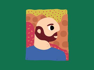 Fisherman Bjorn sideprofile beard portrait bjorn fisherman
