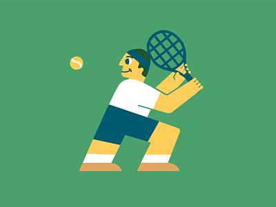 Australian Open is Australian Summer illustration vector illustration tennisillustration tennis australianopen