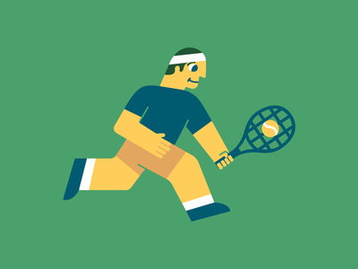 Heating Up australianopen illustration vector artwork sportsillustration tennis