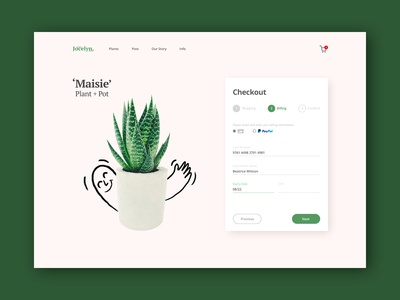Checkout Page - Daily UI Challenge #002
