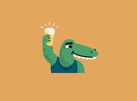 Crocodile Shin