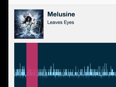 Selecting chunks ios music